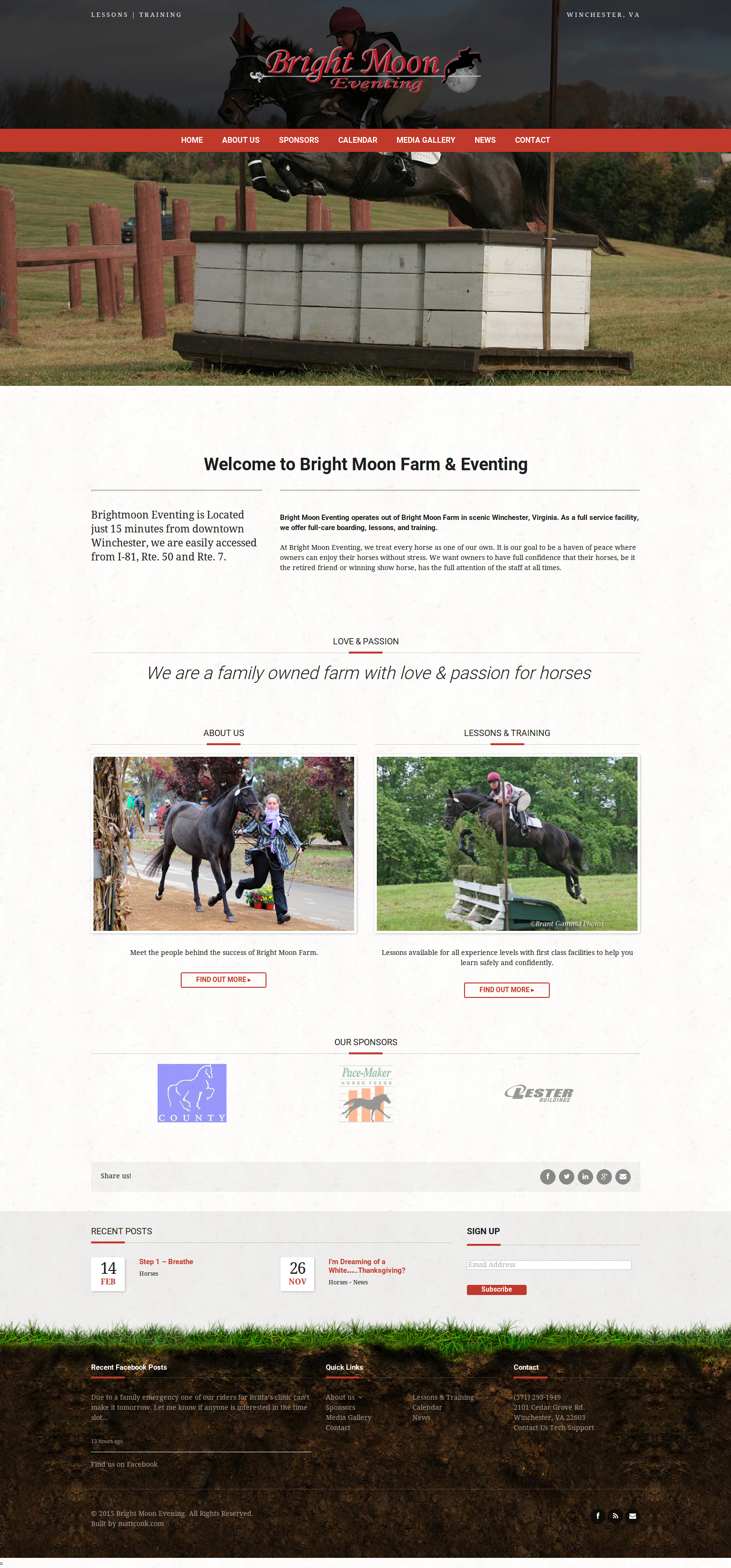 Bright Moon Eventing